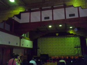 コンサートはフルートの音色が心にしみました